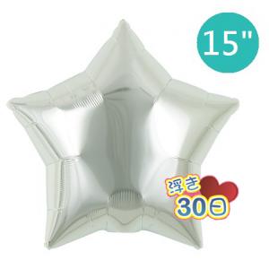 "ibrex Star 15"" 星形 Metallic Silver , TKF15SP313206 <Helium #B>"