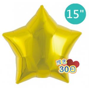 "ibrex Star 15"" 星形 Metallic Gold , TKF15SP313207 <Helium #B>"
