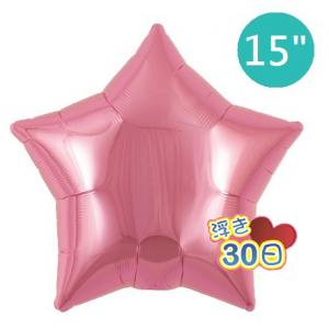 "Ibrex Star 15"" 星形 Metallic Pink (Non-Pkgd.), TKF15SP313216"