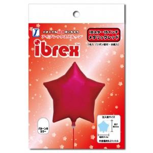 "ibrex Star 15"" 星形 Metallic Red (pkgd.) , TKF15SP333201PK"