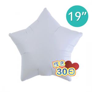 "Ibrex Star 19"" 星形 White (Non-Pkgd.), TKF19SP311203"