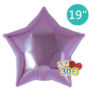 "Ibrex Star 19"" 星形 Metallic Lavender (Non-Pkgd.), TKF19SP311211"