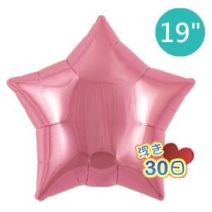 "Ibrex Star 19"" 星形 Metallic Pink (Non-Pkgd.), TKF19SP311216"
