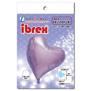 "ibrex Sweet Heart 14"" 甜心形 Metallic Lavender (pkgd.) , TKF14SHP337011PK"