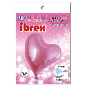 "ibrex Sweet Heart 14"" 甜心形 Metallic Pink (pkgd.) , TKF14SHP337016PK"