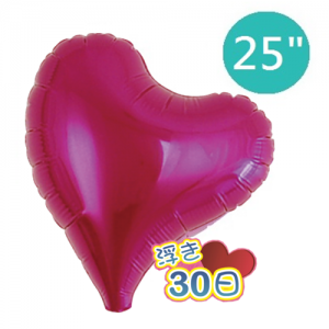 "Ibrex Sweet Heart 25"" 甜心形 Metallic Magenta (Non-Pkgd.), TKF25SHP317407"