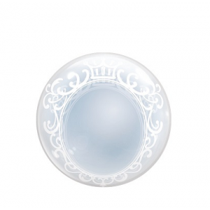 T-Balloon Round-Printed 400mm Princess (10ct) , TK-TB-RI410013