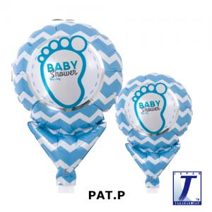"Upright Balloon 5""/ Printed_Baby Shower Boy (Non-Pkgd.), TK-UPB-I810514 <10 個/包>"