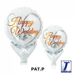 Happy Wedding Lace White (10ct) , TK-UPB-I810518