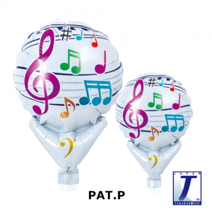 "Upright Balloon 5""/ Printed_Harmony Music (Non-Pkgd.), TK-UPB-I810521 <10 個/包>"