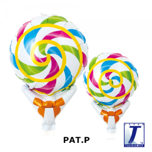 """Upright Balloon 5""""/ Printed_Colorful Candy (Non-Pkgd.), TK-UPB-I810529 <10 個/包>"""