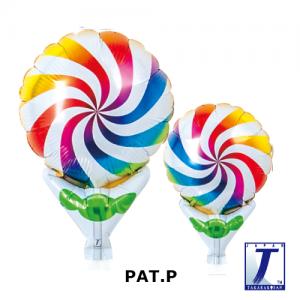 "Upright Balloon 5""/ Printed_Rainbow Candy (Non-Pkgd.), TK-UPB-I810530 <10 個/包>"