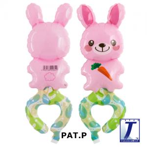 W.A.F. Happy Bunny (10ct) , TK-WAF-110007