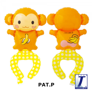 W.A.F. Playful Monkey (10ct) , TK-WAF-110009