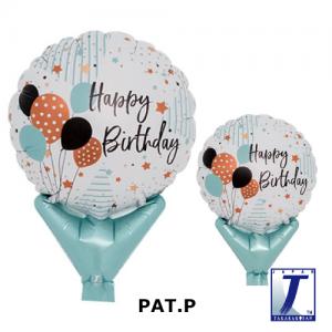 "Upright Balloon 5""/ Printed_Happy Birthday Balloons (Non-Pkgd.), TK-UPB-I810576 <10 個/包>"