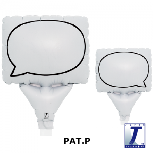 """Upright Balloon 5""""/ Printed_Message Card Round Flame (Non-Pkgd.), TK-UPB-I810710 <10 個/包>"""